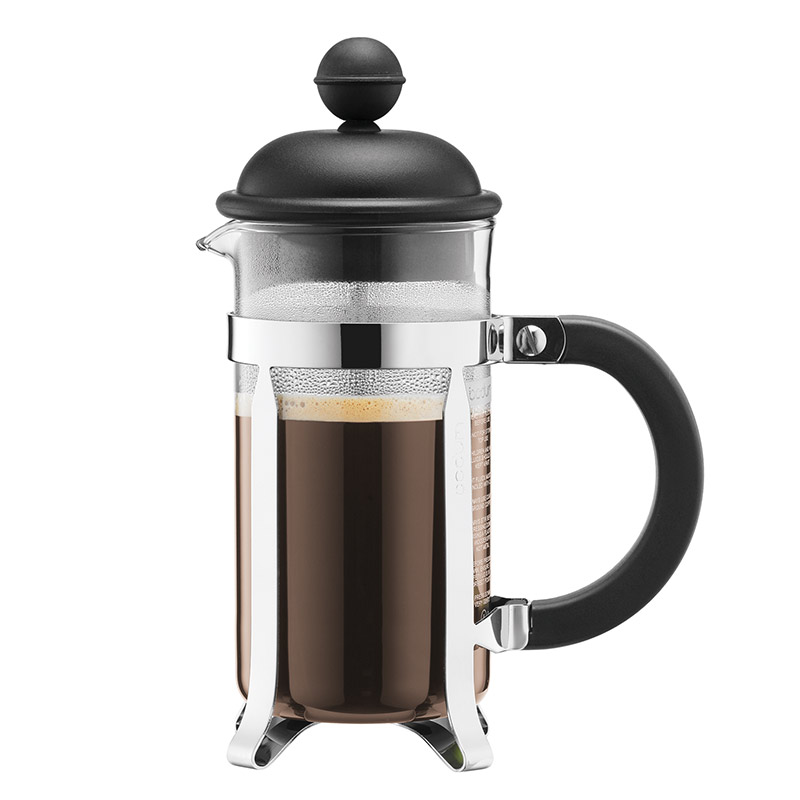 Bodum Caffettiera Coffee Maker 3 Cup 0.35l 12oz Black