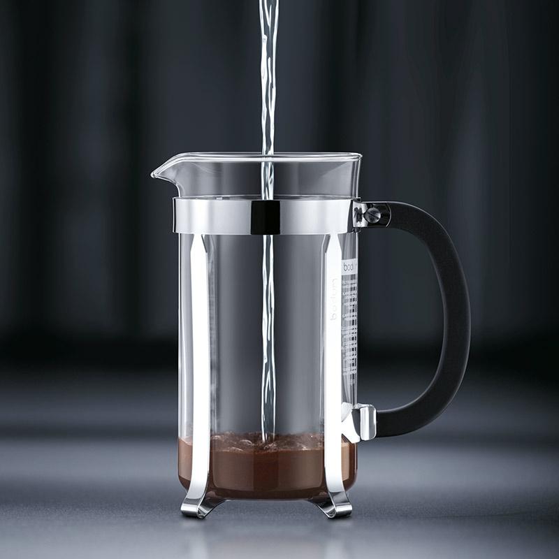 Bodum Caffettiera Coffee Maker 3 Cup 0.35l 12oz Black