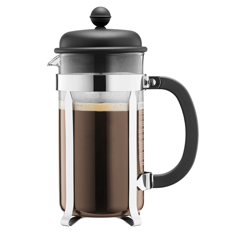 Bodum Caffettiera Coffee Maker 8 Cup 1.0l 34oz Black