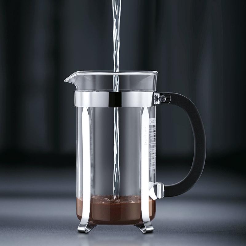 Bodum Caffettiera Coffee Maker 8 Cup 1.0l 34oz Black
