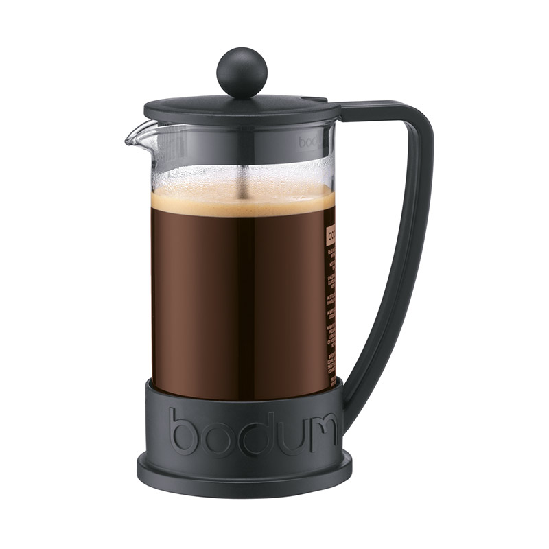 Bodum Brazil French Press Coffee Maker 3 Cup 0.35l 12oz Black